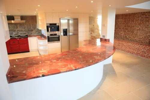28 Best Images About Vibrant Red Granite Kitchen