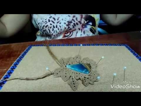 614 best craft images on Pinterest Micro macrame, Tutorials and - bao de piedra