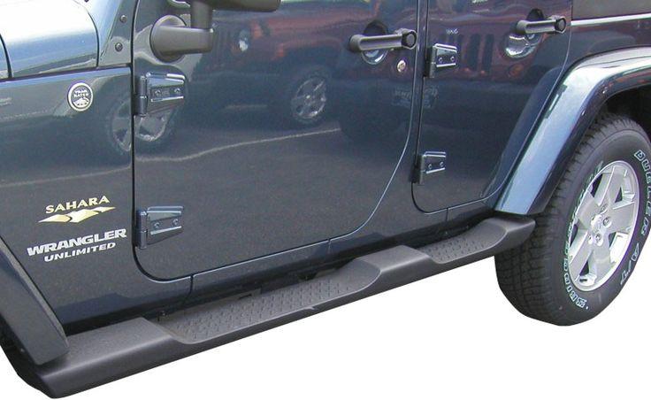 Jeep Side Steps for Wrangler - Mopar Part #82210565AC or #82210571AD #JKSideSteps