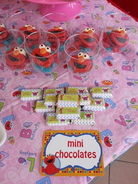 Mini personalized chocolates