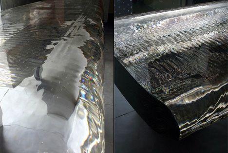 Water Fall Bar de Tokujin Yoshioka_Solucionista_Arquitectura_interiorismo