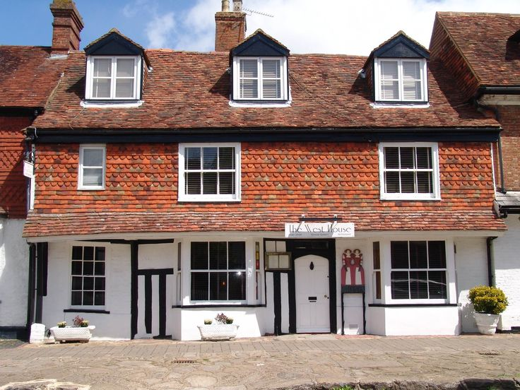 The Michelin Star West House Restaurant in Biddenden, Kent who have commissioned tableware from Aylesford Pottery