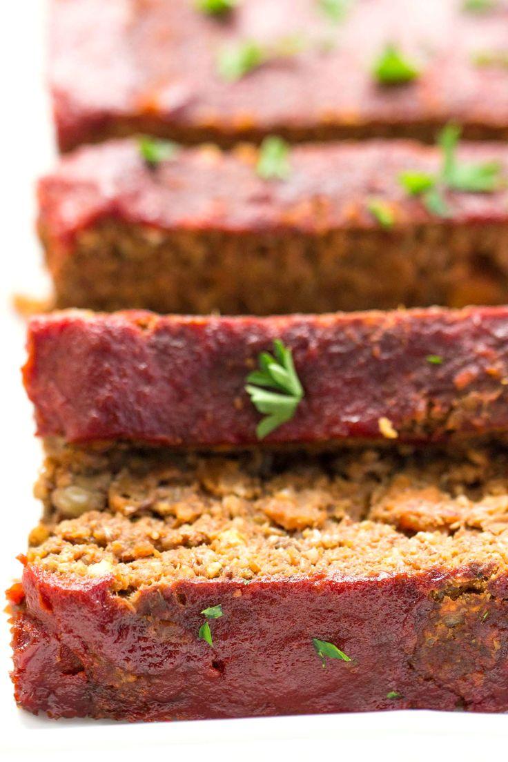 17 Best ideas about Vegan Meatloaf on Pinterest | Vegetarian meatloaf ...