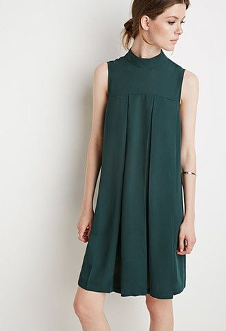 Contemporary Pleated Trapeze Dress | Forever 21 - 2000142853