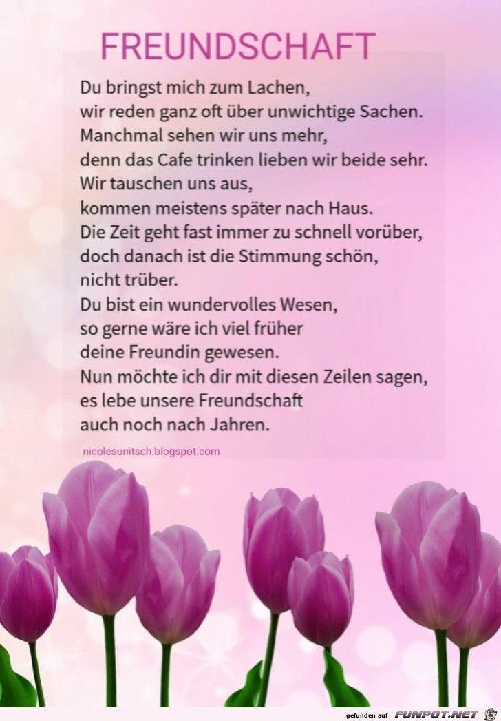 Freundschaft Gedicht Von Nicole Sunitsch Gedichte