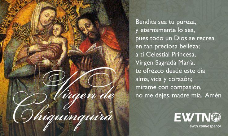 La Virgen de Chiquinquirá es la patrona de Colombia.