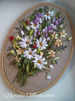 silk ribbon embroidery Natasha Mochalova