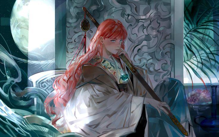 Sea of Shadow / Twelve Kingdoms by SaigaTokihito.deviantart.com on @DeviantArt