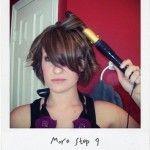 Loose Curls for Short Hair Tutorial | Tipsy Society