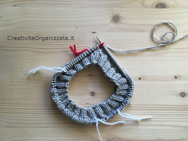 Maglione top down ai ferri: tutorial con spiegazioni in italiano per fare un maglione uomo/donna senza cuciture e di tutte le misure.