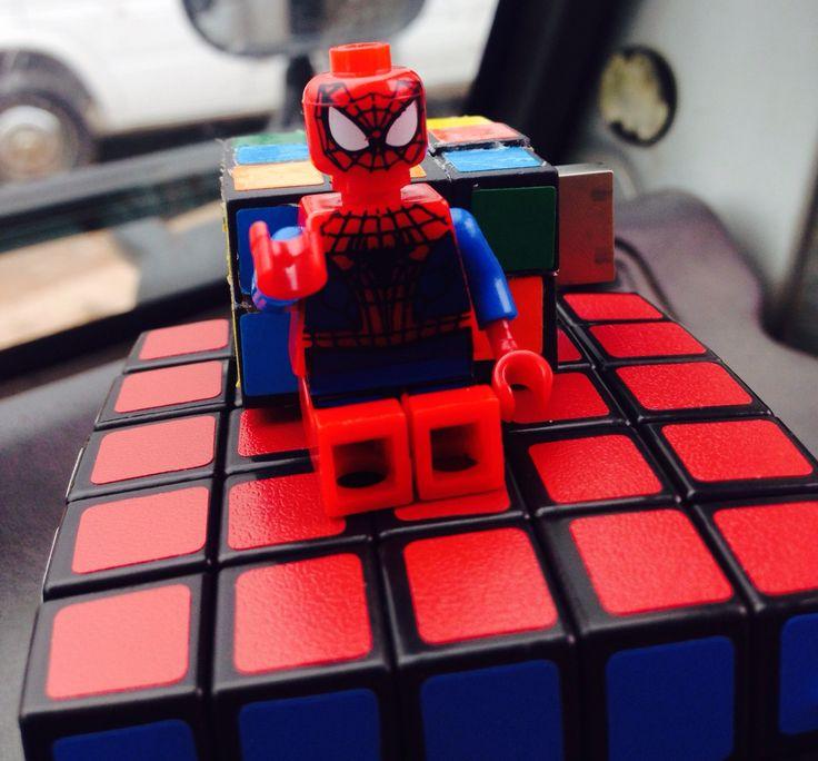 Spiderman cubo rubik