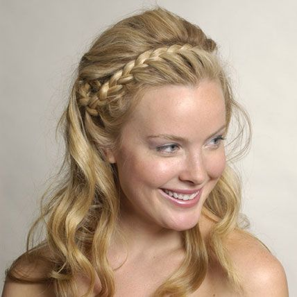 46 best images about Bridesmaid Hair  braid ideas on Pinterest
