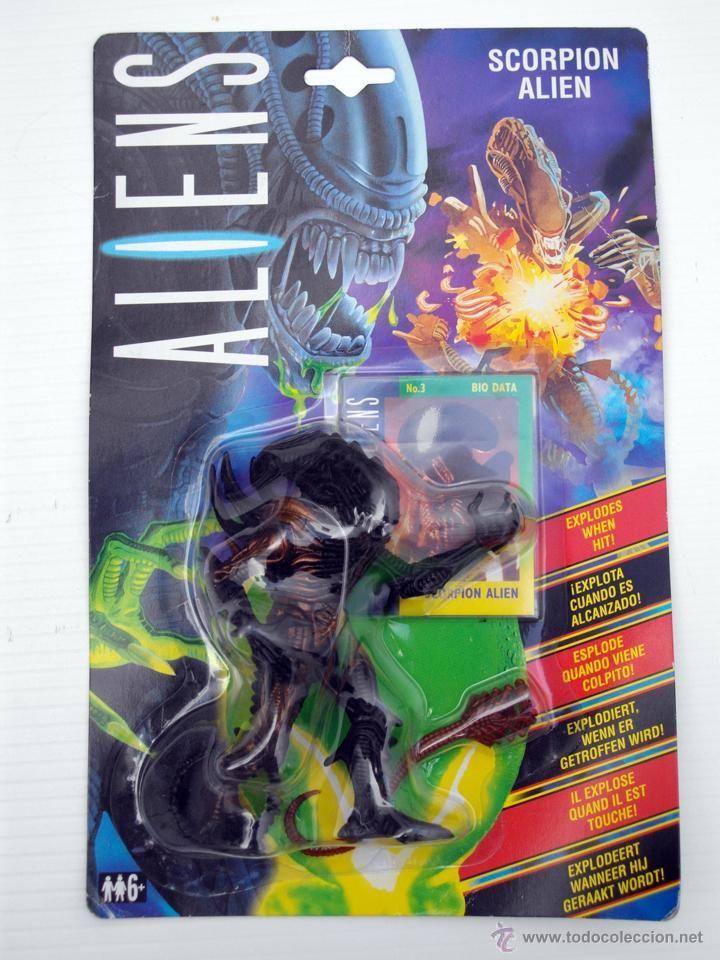 FIGURA ALIENS SCORPION ALIEN EN BLISTER NUEVO KENNER AÑO 1992 (Juguetes - Figuras de Acción - Otras Figuras de Acción)