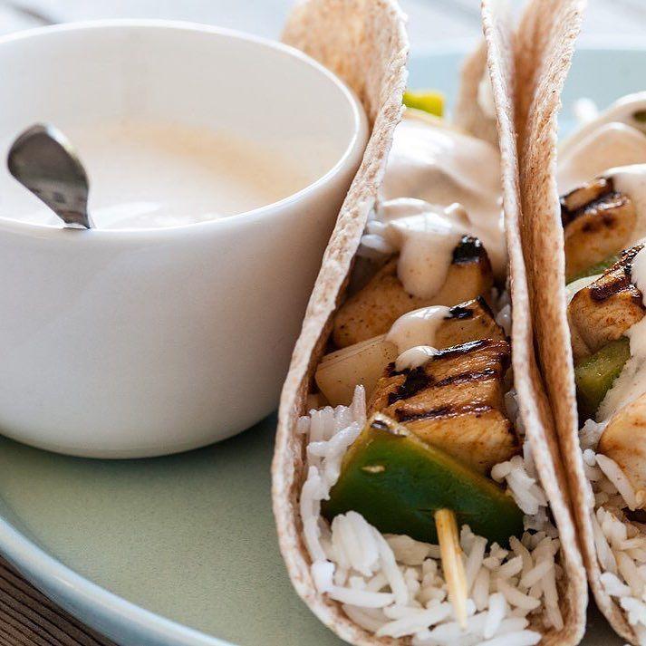Chicken fajita kebabs by Colin McGurran http://ift.tt/2rjr9Dw