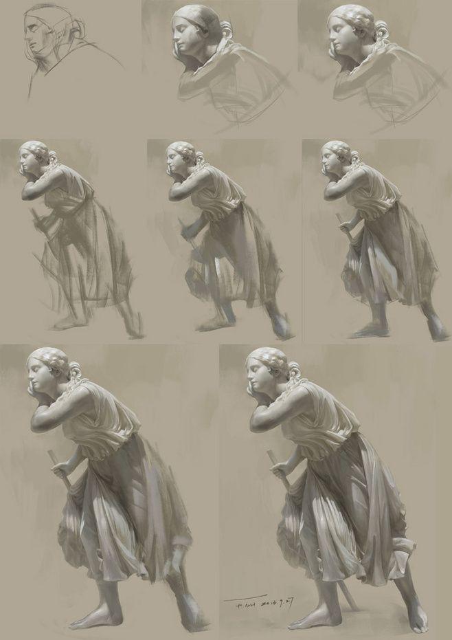 rrs9t.qed7dj.cn @ six Teng collected drawing tutorial (Figure 222) _ petal Other via cgpin.com