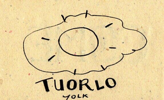 "Tuorlo (Yolk). It can also be described as ""giallo dell'uovo"""