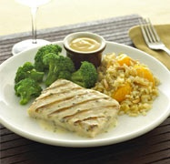 Van De Kamp's | Buttery Tilapia with Asian Rice Medley and Honey Soy Broccoli | Premium Frozen Seafood