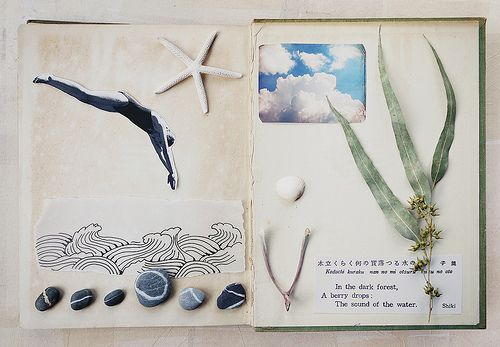 artjournaling:    a different story (by wild goose chase)