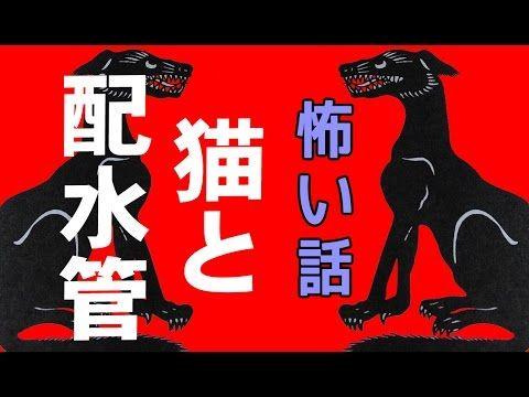 【怖い話】猫と配水管【朗読、怪談、百物語、洒落怖,怖い】