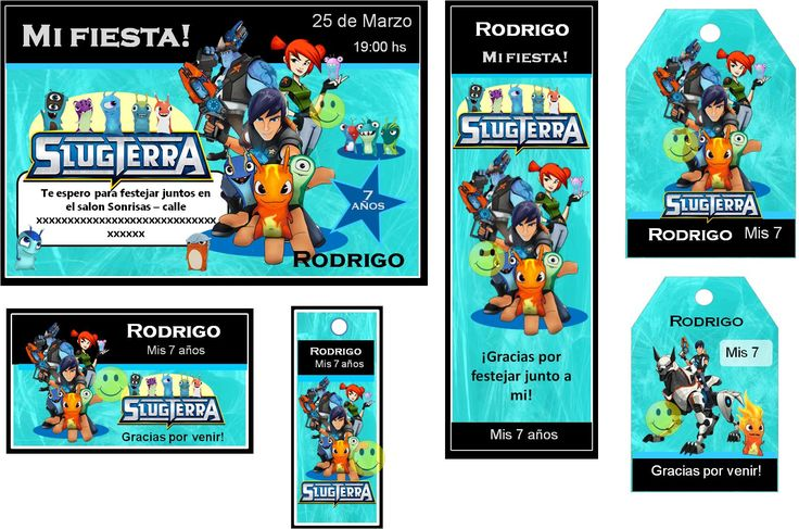 Tarjetas De Invitacion De Cumpleaños De Bajoterra En Hd Gratis 2 HD Wallpapers