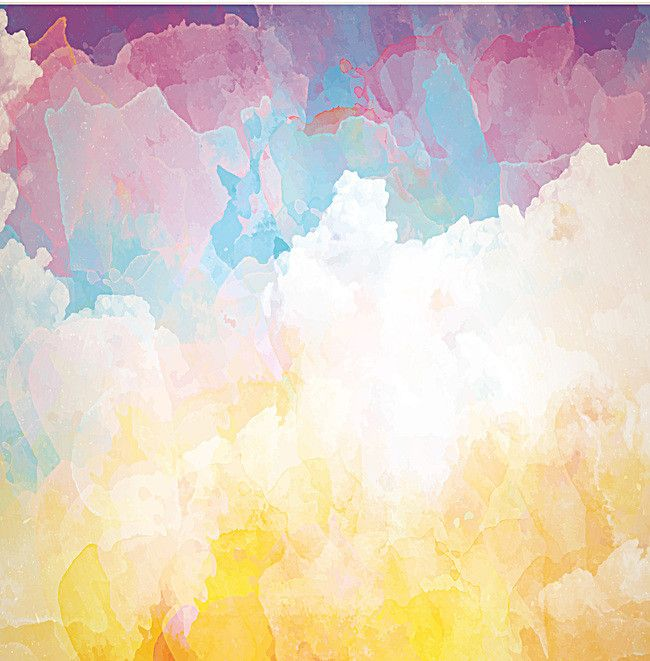 Fantasy Watercolor Poster Background Material Art Background