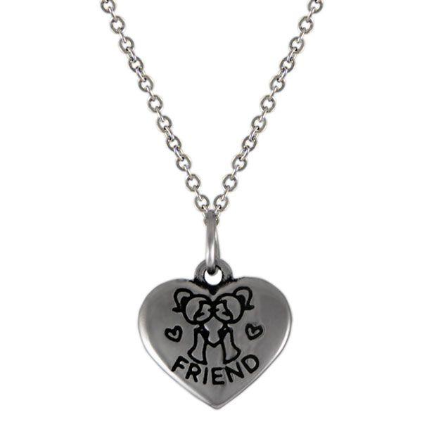 NH3287OC Srdce náhrdelník z chirurgickej ocele : Šperky Swarovski, SuperSperky.sk
