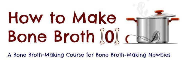 How to Make Bone Broth 101 | www.fearlesseating.net | #bonebroth #realfood #paleo