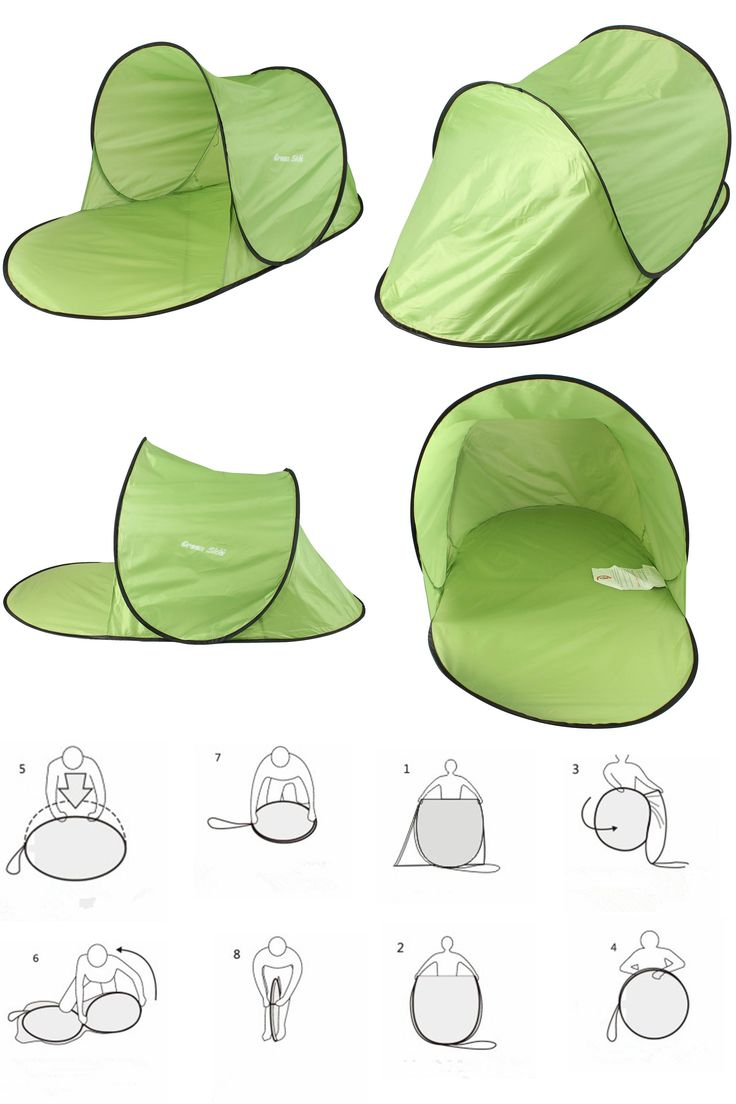 [Visit to Buy] Waterproof Outdoor summer sun shade UV protection tent fully automatic quick open pop up beach awning camping hiking tent #Advertisement