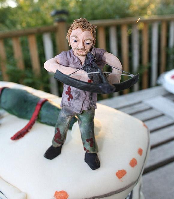 Walking Dead Birthday Cake Daryl