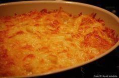 Simpele klassieke aardappelgratin