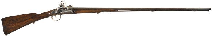 Escopeta de caça de doble canó amb pany miquelet feta a Torí (Itàlia) a la primera meitat segle XVIII.