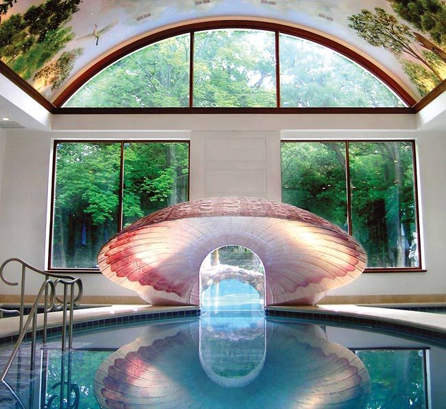 17 best images about indoor pools on pinterest luxury for Custom indoor pools