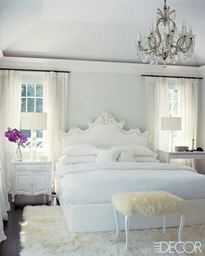 An All White Room Usually Leaves Me Cold. The All White Room Has Been  Punched With Colour Bursts Making