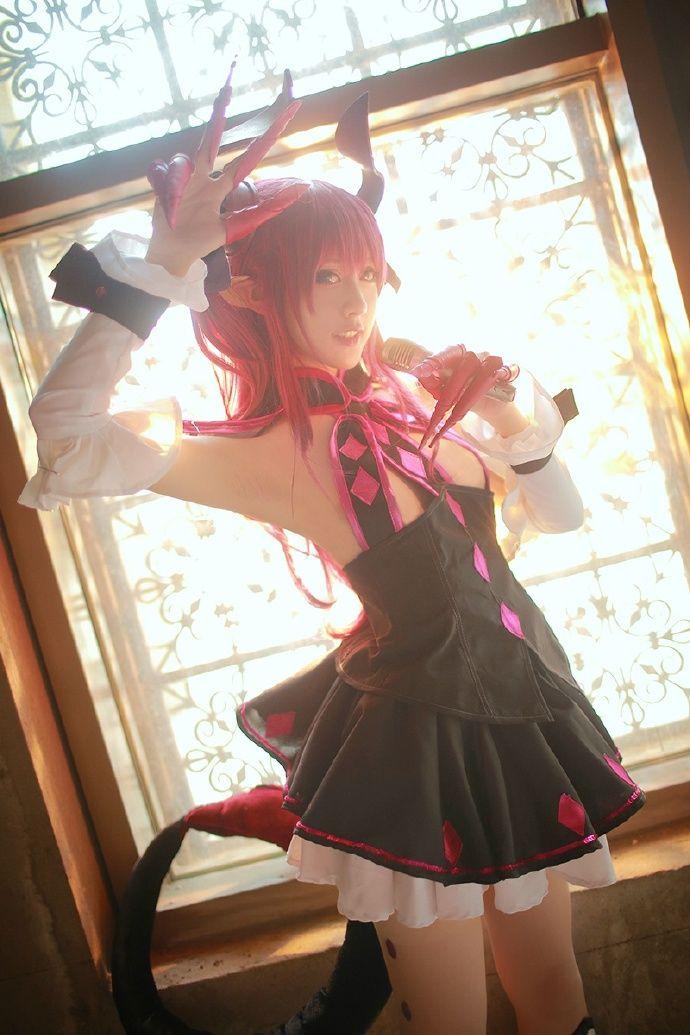character :FGO LANCER cosplayer :@空气娘kuuki