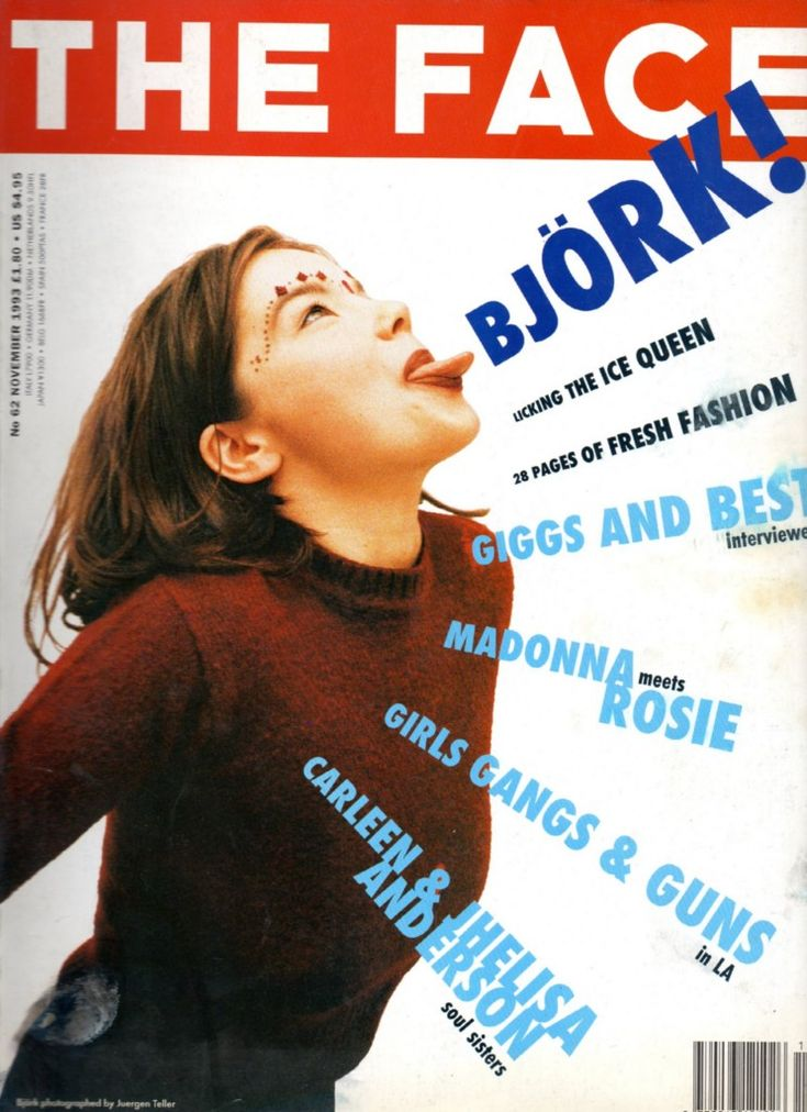 the face magazine - bjork 1993