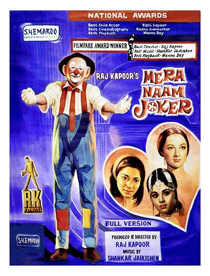"""Mera Naam Joker.. Artist - Salim Khan Size - 30"""" x 40"""" Medium - Poster Colour on Canvas www.worldarthub.com #thearthub #paintings #Poster_Colour_on_Canvas #Canvas #Poster #Salim_Khan #Guest_Room #print #indianartist #artgallery #worldart #mumbai #Buyonline #Online #Onlineshop #Mera_Naam_Joker"""