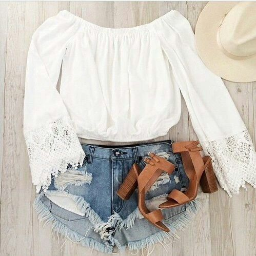I love the top and need those shoes