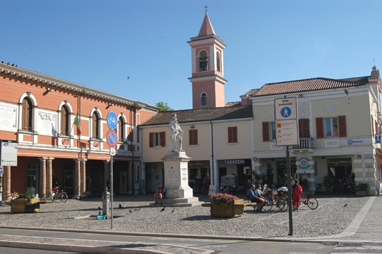 old-town centre