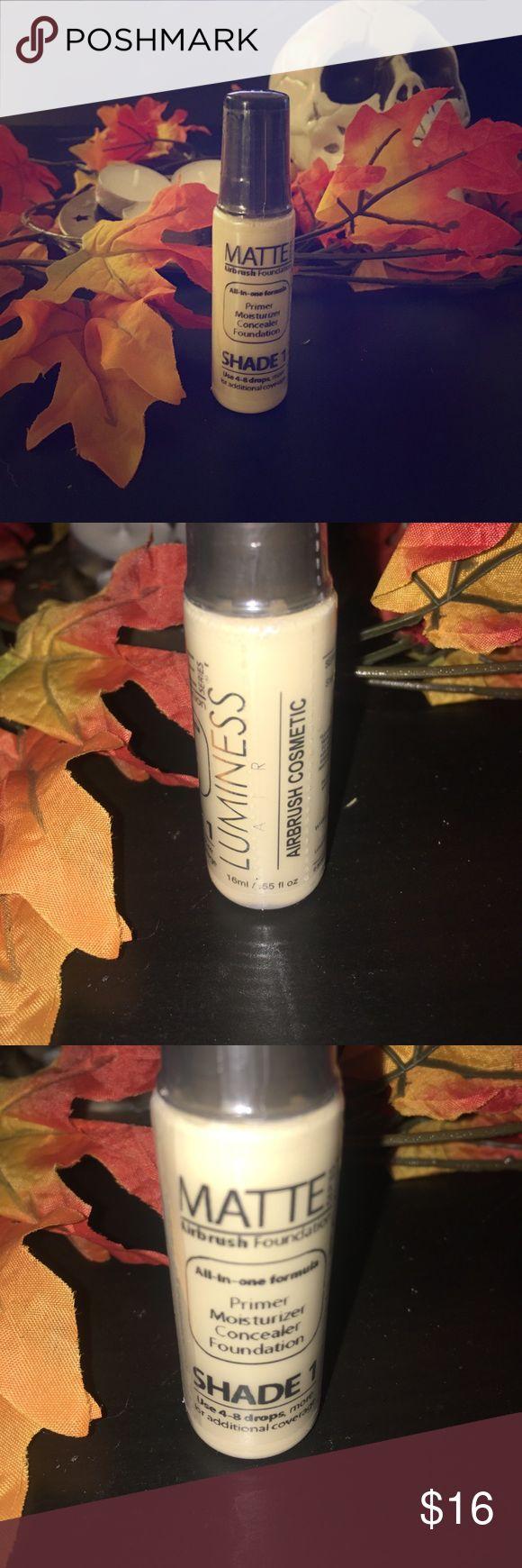 Luminess Airbrush Makeup Matte Primer/Moisturizer/Concealer/Foundation Luminess Air Makeup Face Primer