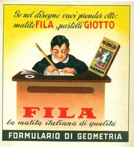 Matite Fila & pastelli Giotto