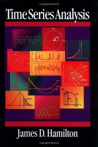 Time Series Analysis by James Douglas Hamilton. $72.78. Publication: January 11, 1994. Edition - 1. Publisher: Princeton University Press; 1 edition (January 11, 1994). 820 pages. Save 37%!
