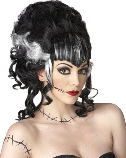 Bride Of Frankenstein Makeup Ideas | Halloween Hairstyle Ideas | Fashionisers.com - Tempted by the Passion ...