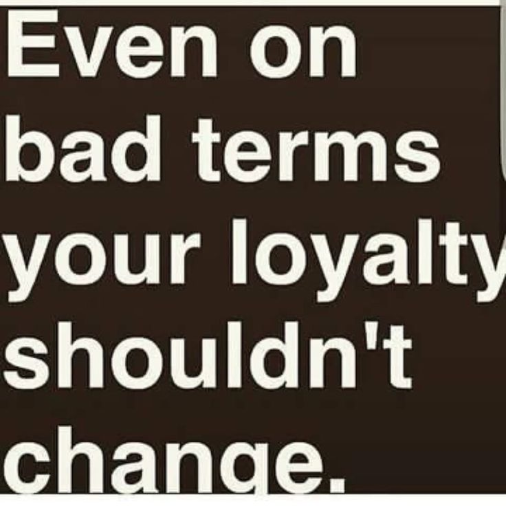Loyalty is a lost trait!