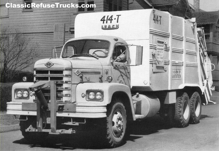 165 Best Vintage Sanitation Trucks Images On Pinterest