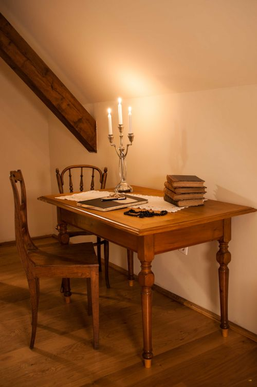 Perfect setting for some evening writing session @Cincsor.Transylvania.Guesthouses