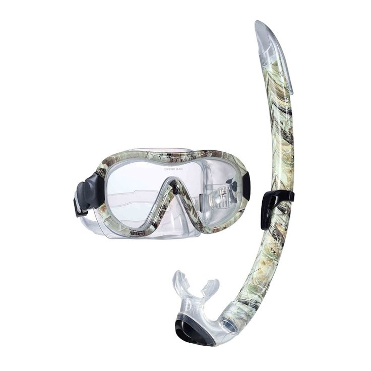 Diving Goggles And Snorkel