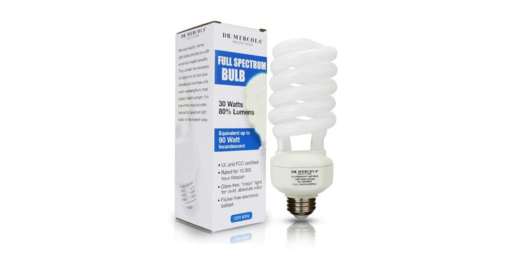 Way Healthier Compact Fluorescent Full Spectrum Light Bulbs - One of the best ways to compensate for the lack of sunshine is through the use of full.