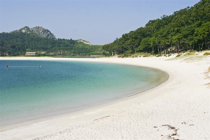 Spiaggia di Rodas - Isole Cies