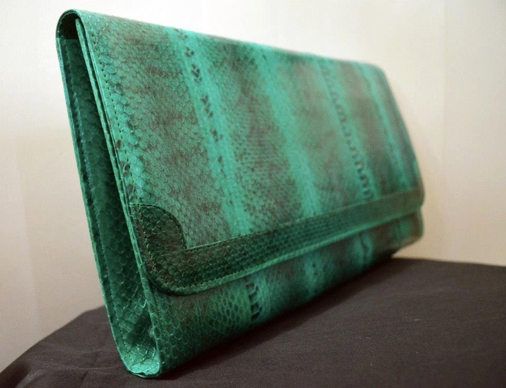Jocasta Clutch in Green