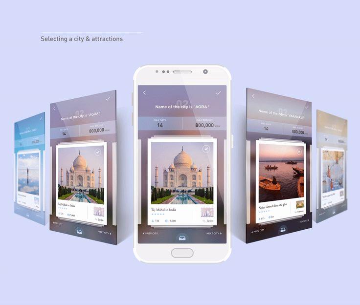 TRIPTO _Travel management app on Behance